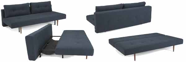 InnovationLiving RECAST sofa 515 Blue NIST