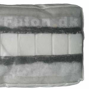 Futon 455 80x200 latex-horsehair-cotton-wool