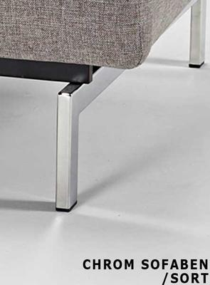 SP chair legs CHROM -without mattress