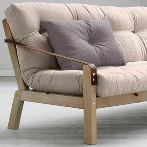 POETRY sofa stel Natural. Futon Madras farve 747 VISION. Karup Partners A/S