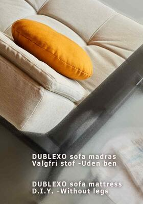 DUBLEXO sofa mattress DIY -Without legs
