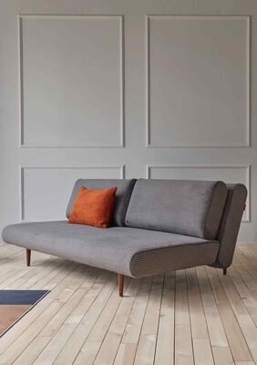 UNFURL Lounger sofa corduroy grey