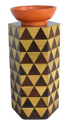 MOSA vase of bamboo and ceramic