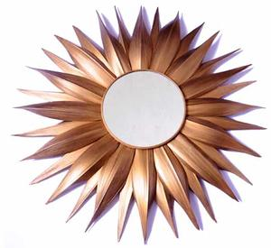 Mirror gold finish