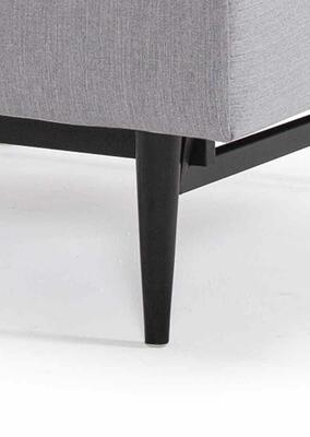 SP chair legs STYLETTO HL, black wood -without mattress