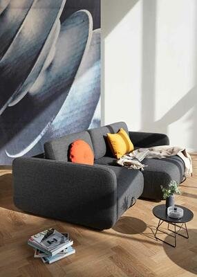 VOGAN sofa 577 dark grey
