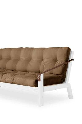 Poetry sofa stel og futon madras med knapper. 