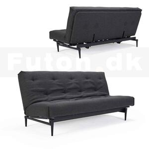 Complete Colpus sofa black legs / SOFT Spring Nordic mattress. Optional fabric