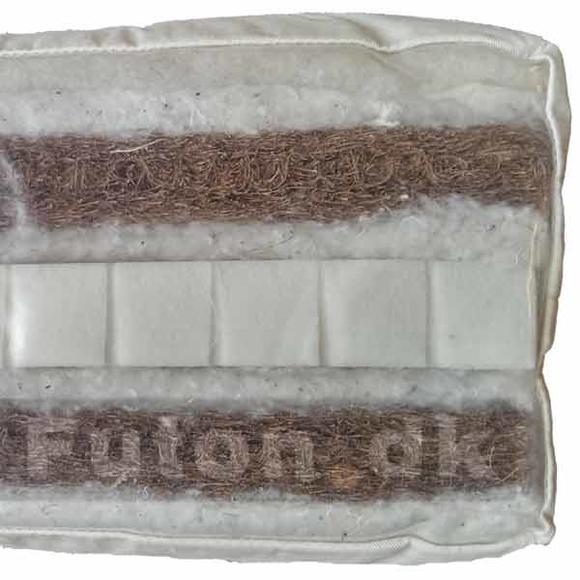 futon 800 180x200 latex kokus bomuld uld tilbud dkk. Black Bedroom Furniture Sets. Home Design Ideas