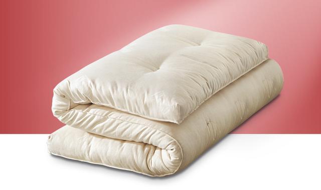 topmadras 180x200 cm 2xcotton 4cm latex tilbud dkk. Black Bedroom Furniture Sets. Home Design Ideas