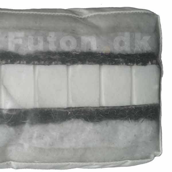 Futon 455 70x140 latex-horsehair-cotton-wool