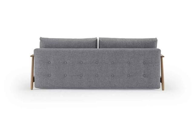 ELUMA SOFA - UNA Deluxe button Granite 565