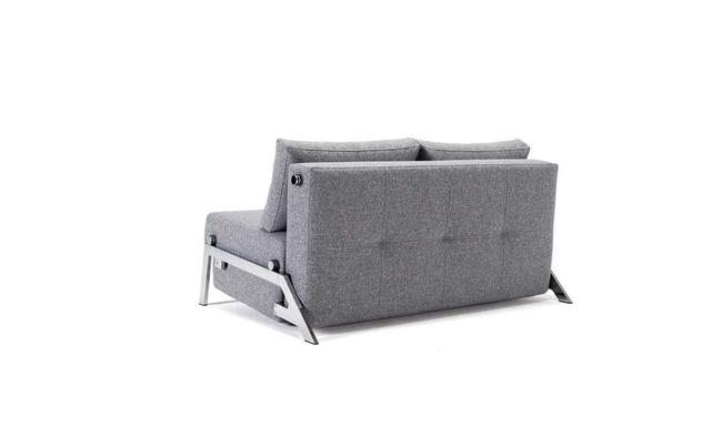 CUBED Chrome sofa 140