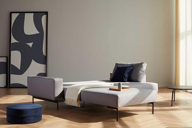 BRAGI sofa 2 Arm, light grey