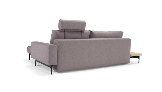 BRAGI sofa 1 Arm & 1 Table, light gray