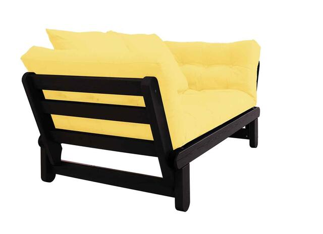 BEAT sofa black FSC ® daybed