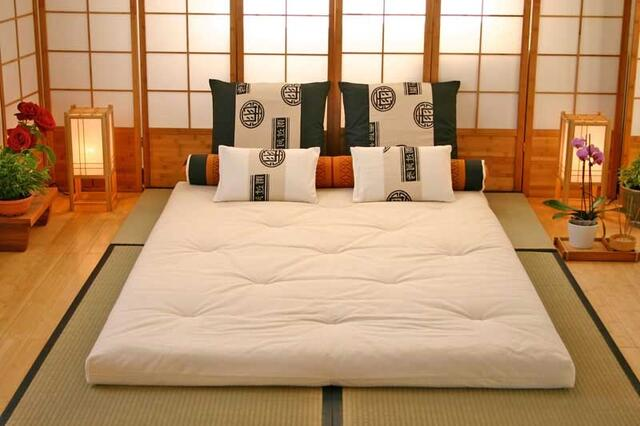 Futon 100 mattress 160x210 cotton 8 layers