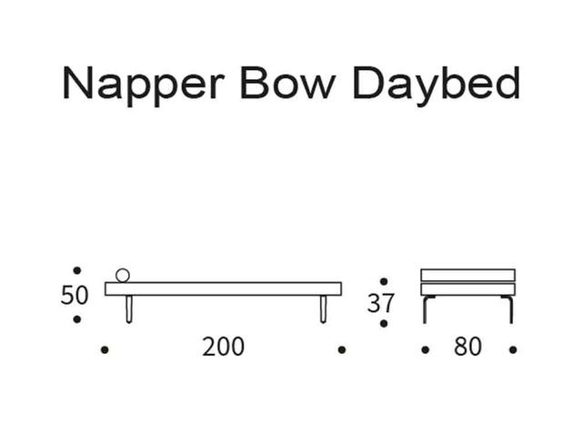 Napper Bow daybed DIY
