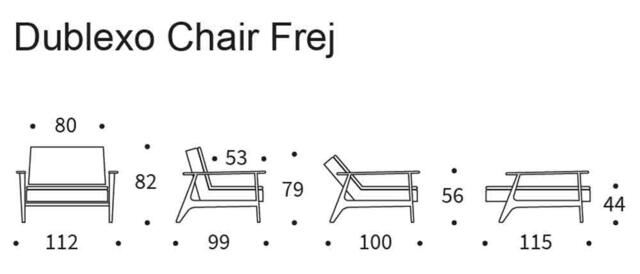 DUBLEXO FREJ chair