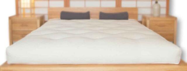 Futon 186 mattress 160x200 foam/cotton