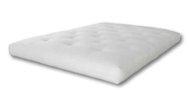 Futon 186 mattress 120x200 foam/cotton