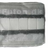 Futon 455 100x200 latex-horsehair-cotton-wool
