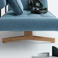 GHIA sofa legs oak -without mattress