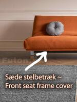 Front seat frame cover 120 for 7-in-1 sofa