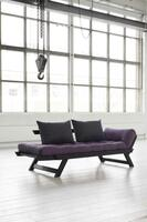 BEBOB sofa black lacquered FSC ® daybed