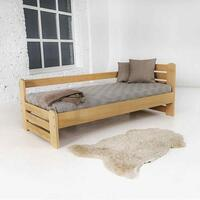​Country single bed 90 solid beech