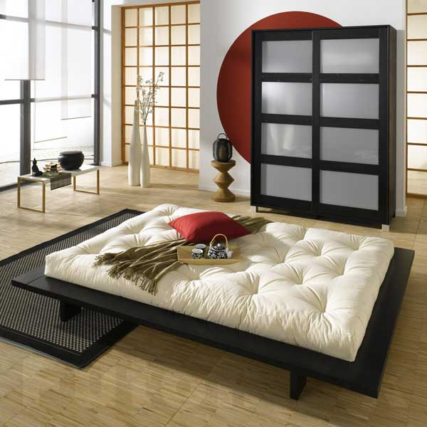 japansk futon seng
