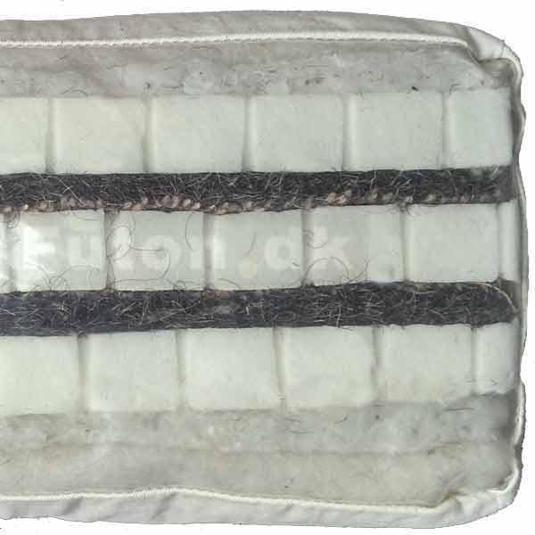 futon 980 140x200 latex hestehaar bomuld uld offer. Black Bedroom Furniture Sets. Home Design Ideas