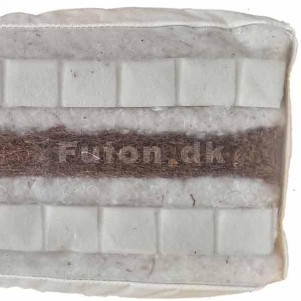 futon 900 180x200 latex kokus bomuld natural tilbud dkk. Black Bedroom Furniture Sets. Home Design Ideas