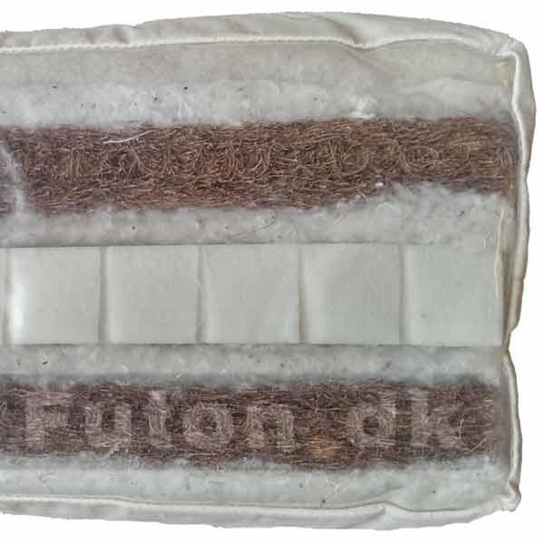 futon 800 140x200 latex kokus bomuld uld tilbud dkk. Black Bedroom Furniture Sets. Home Design Ideas