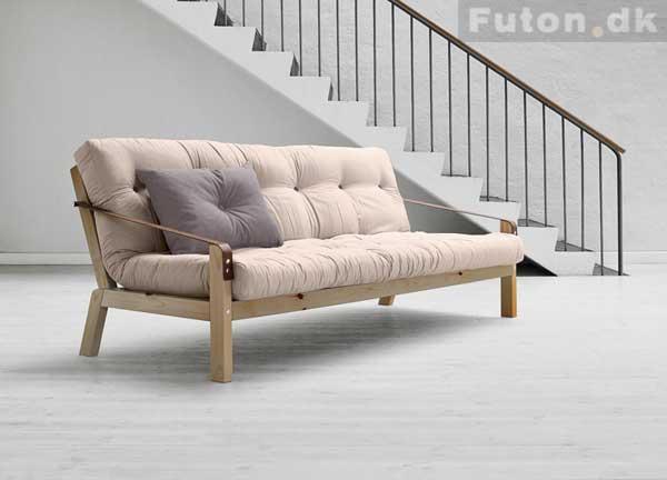 futon sovesofa KØB Poetry sovesofa Natur lak FSC ® Tilbud: 3.165,00 futon sovesofa